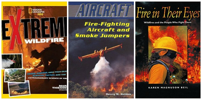 Books about Fire fighting at Castle View Academy homeschool