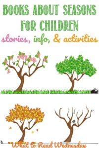 Books about the seasons for children at Castle View Academy