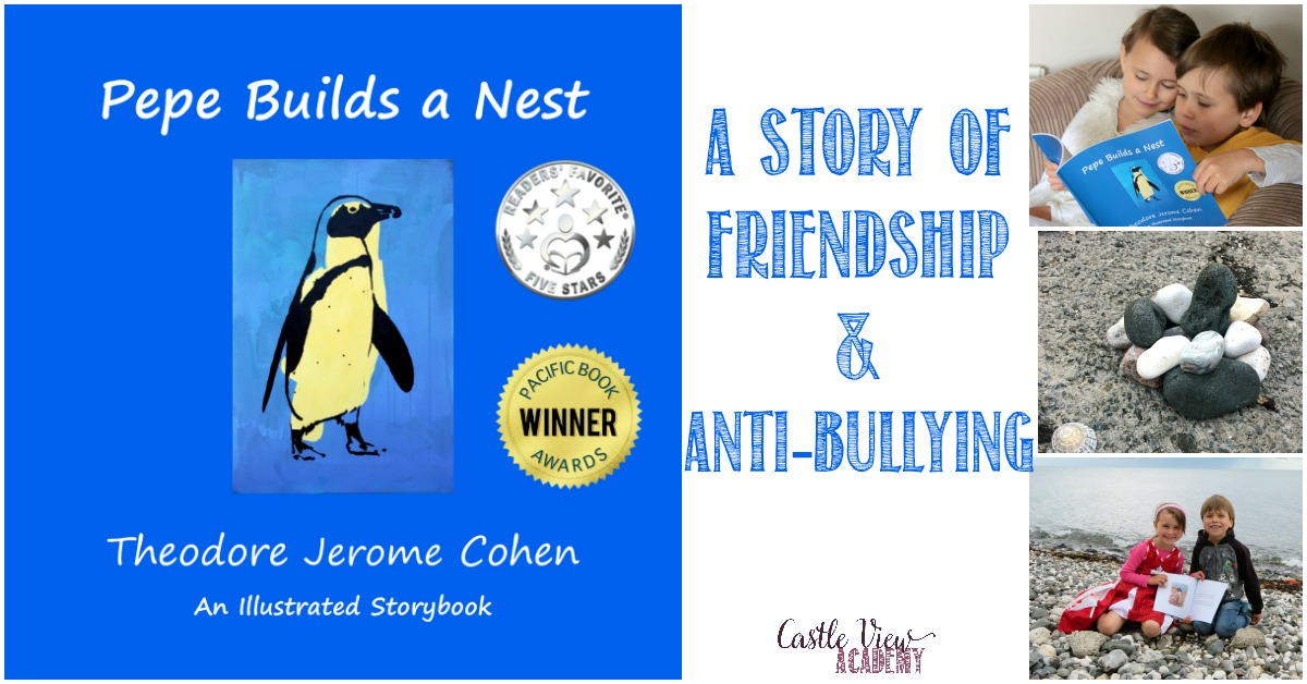 Building a rock nest, a review by Castle View Academy, A Story of Friendship & Anti-Bullying