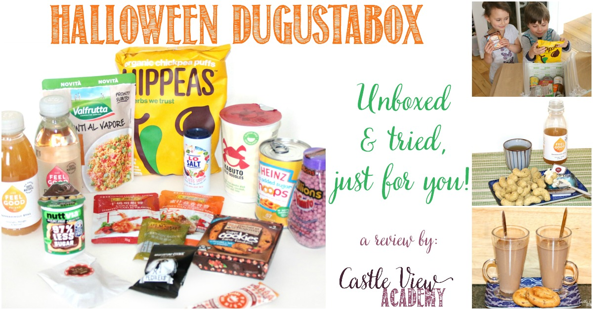 Castle View Academy unboxes the Halloween Degustabox