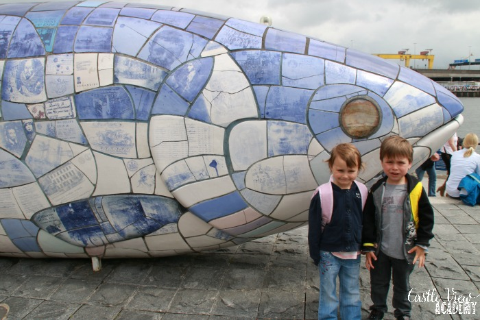 Castle View Academy visits Belfast's Big Fish