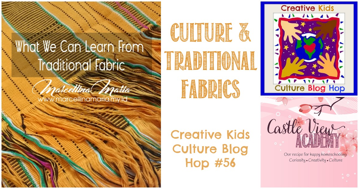 Culture and traditional fabrics on CKCBH and Castle View Academy