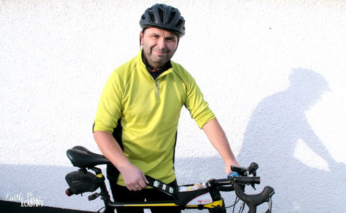 Cycling safety for the commute to work at Castle View Academy homeschool