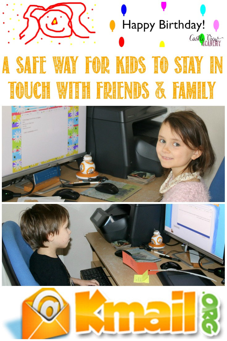 Kids Email To Put Your Mind At Ease in today's predatory world, a review by Castle View Academy homeschool