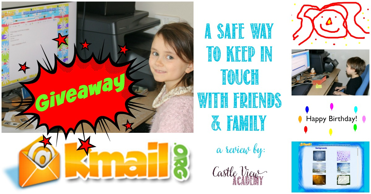 KidsEmail Review and Giveaway at Castle View Academy homeschool