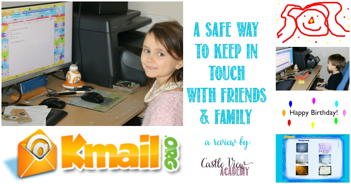 KidsEmail Review at Castle View Academy homeschool