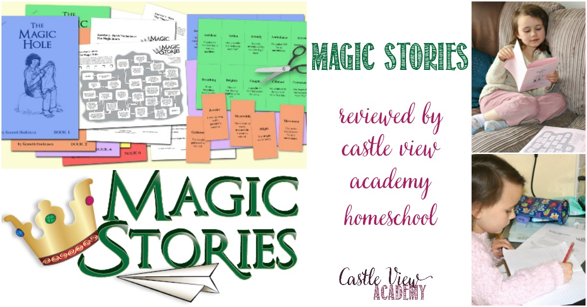 Magic Stories reviewed by Castle View Academy homeschool