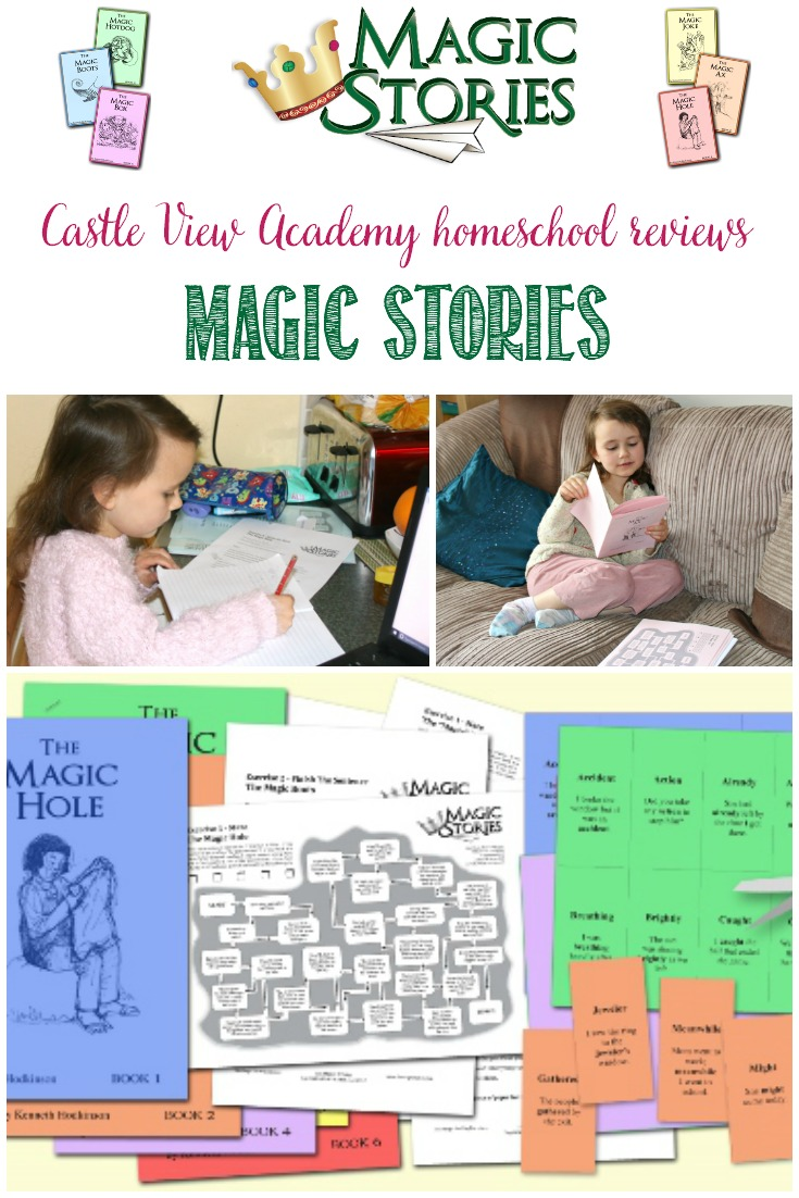 Castle View Academy is reviewing The Magic Stories; a set of 6 story booklets, vocabulary, comprehension, and creative writing activities.