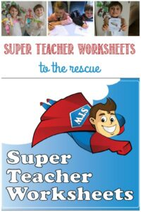 Super Teacher Worksheets to the rescue at Castle View Academy homeschool