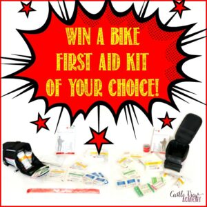 Win a bike first aid kit of your choice at Castle View Academy