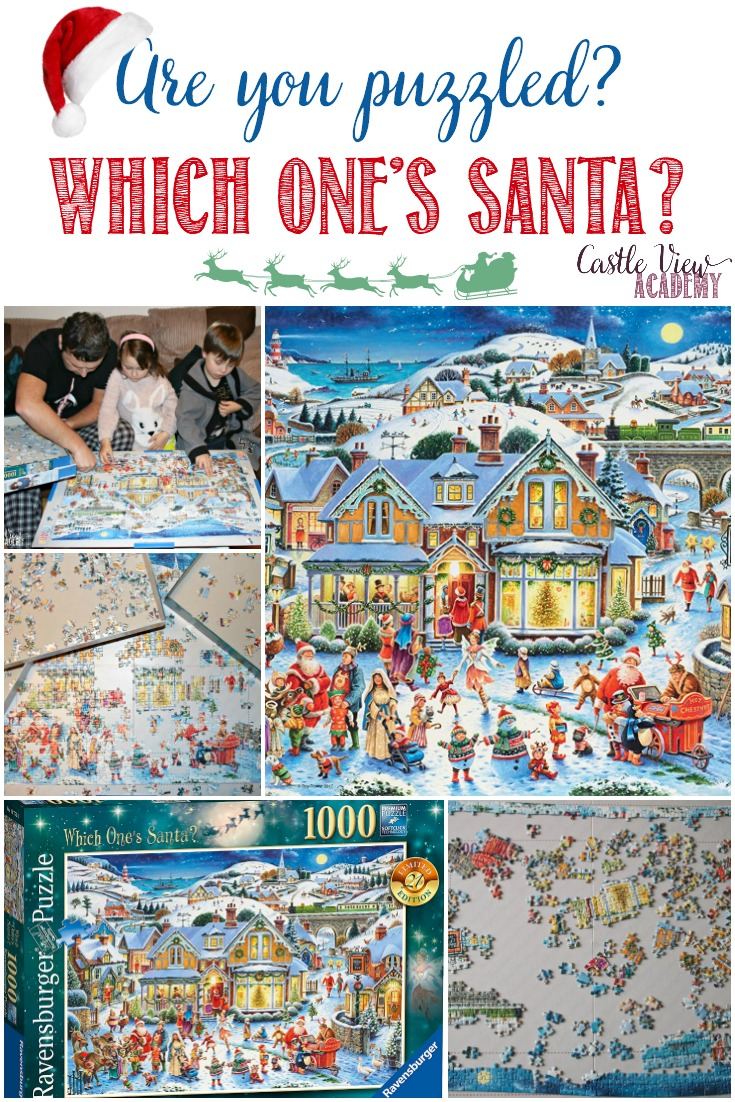 Puzzles and Christmas fit together perfectly; it's a tradition. And when the title is