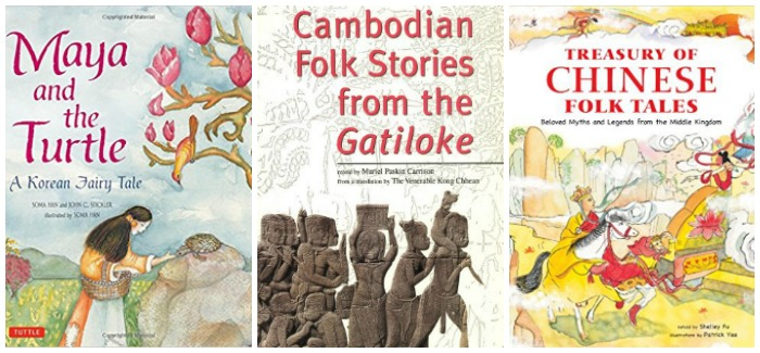 Asian folk tales at Castle View Academy homeschool
