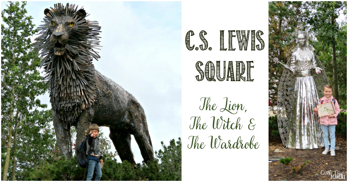 C.S. Lewis Square in Belfast, Northern Ireland, Castle View Academy homeschool explores