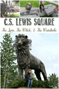 C.S. Lewis Square in Belfast, Northern Ireland, Castle View Academy homeschool investigates