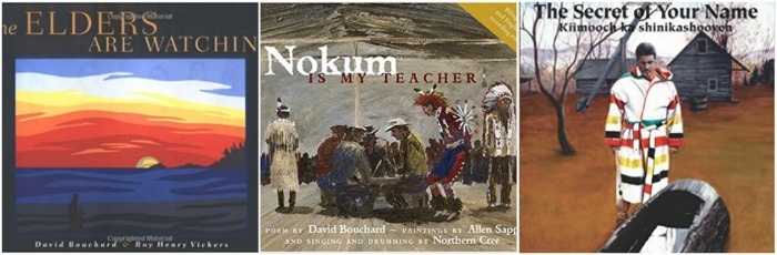 Canadian First Nations Books by David Bouchard at Castle View Academy homeschool