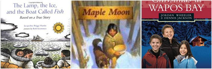 Canadian First Nations books for children at Castle View Academy homeschool