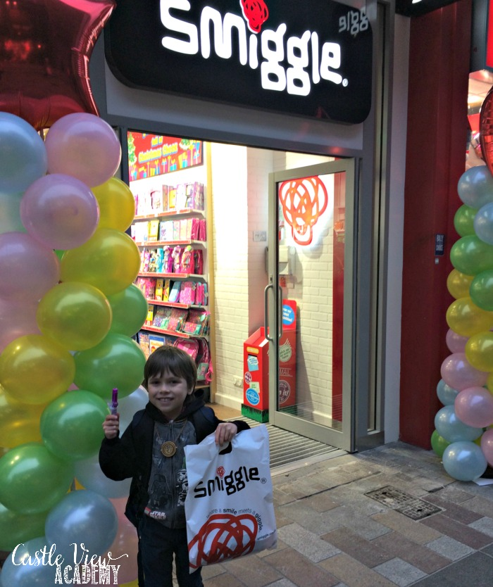 Castle View Academy leaves Smiggle Belfast with smiles