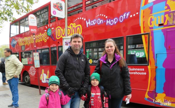 Castle View Academy on the Hop On Hop Off Dublin Bus Tour