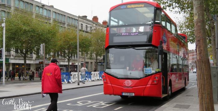 Dublin Bus Tour with Castle View Academy