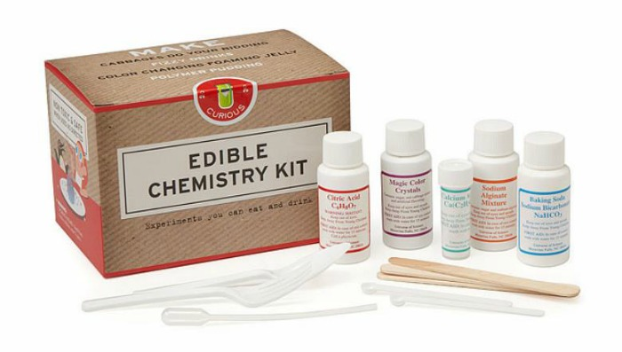 Edible Chemistry Kit is on Castle View Academy's wish list from Uncommon goods