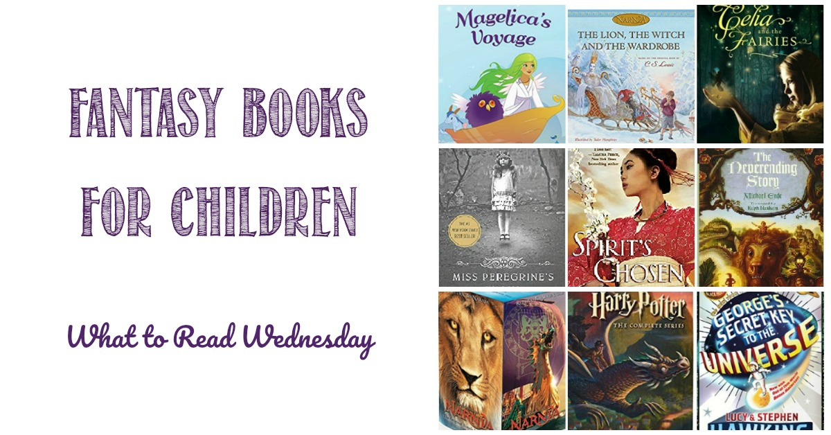 Fantasy books for children at Castle View Academy homeschool