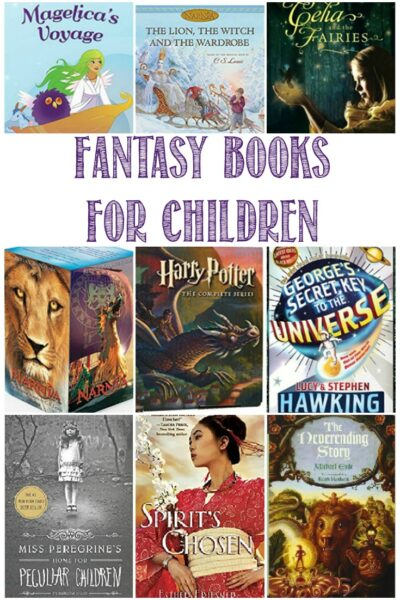 Fantasy books for kids at Castle View Academy
