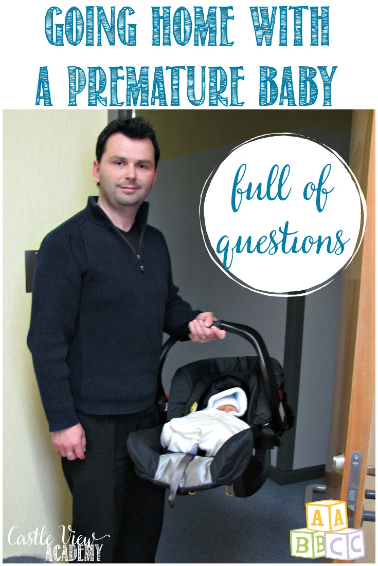 'Real' life began with going home with a premature baby; still five weeks before his due date, full of questions and not knowing what to do. There is now help available!