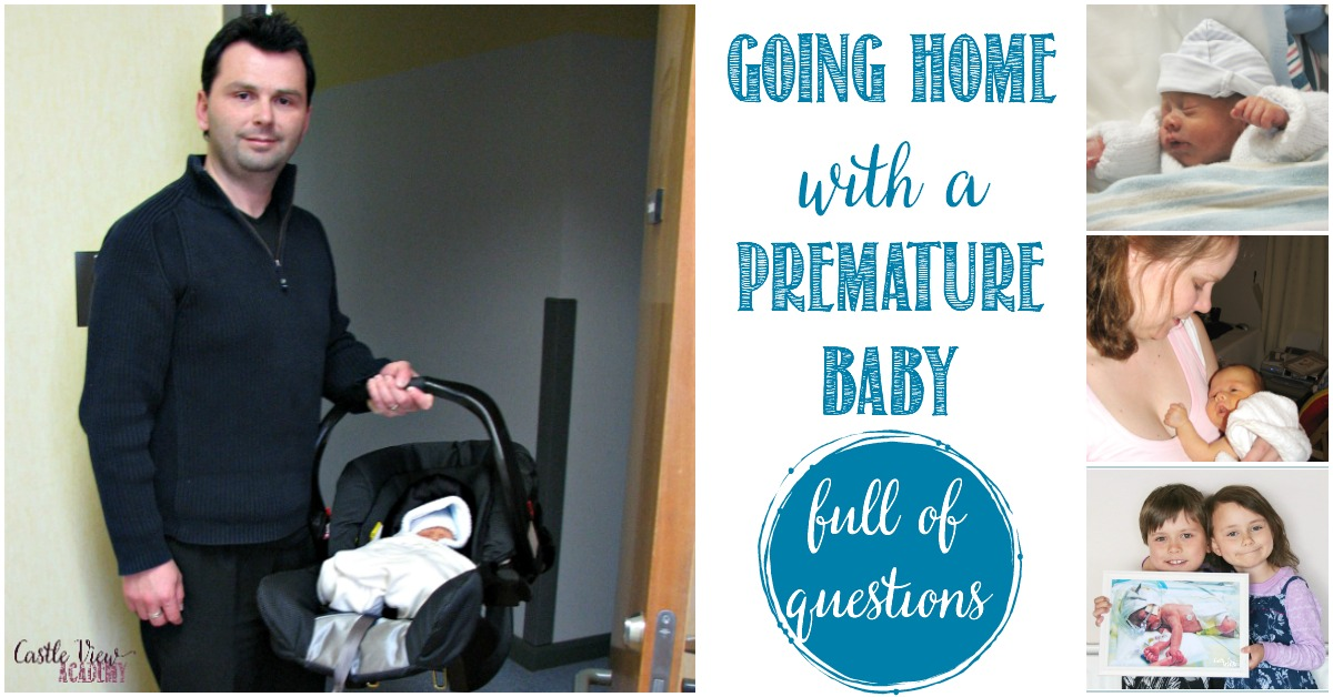 Going home from the hospital with a premature baby and full of questions, Castle View Academy's experience