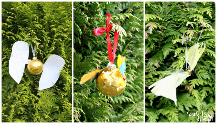 Harry Potter Golden Snitch Craft for kids at Castle View Academy homeschool