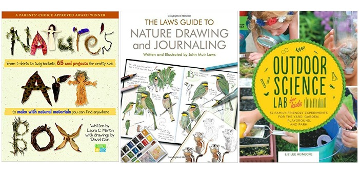 Nature Art and Science for kids at Castle View Academy homeschool