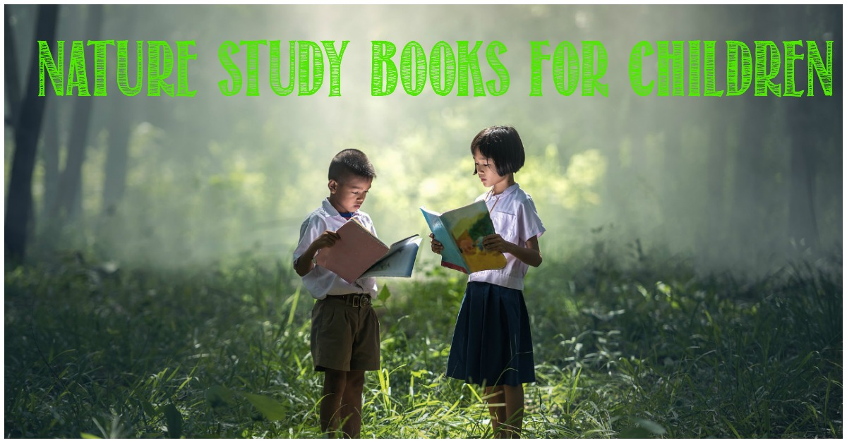 Nature study books for children at Castle View Academy