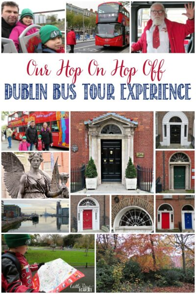Our Hop On Hop Off Dublin Bus Tour Experience, Castle View Academy homeschool's Field Trip