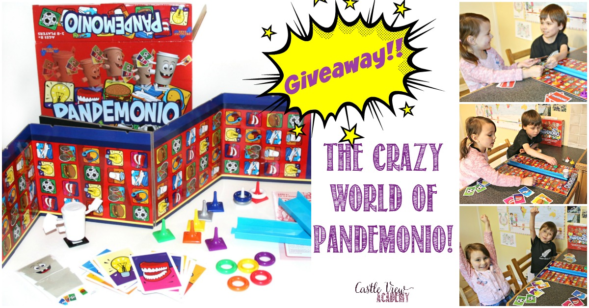 Pandemonio Review and Givewaway at Castle View Academy