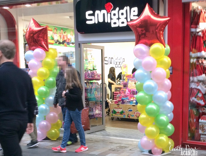 Smiggle has opened in Belfast, Castle View Academy investigates