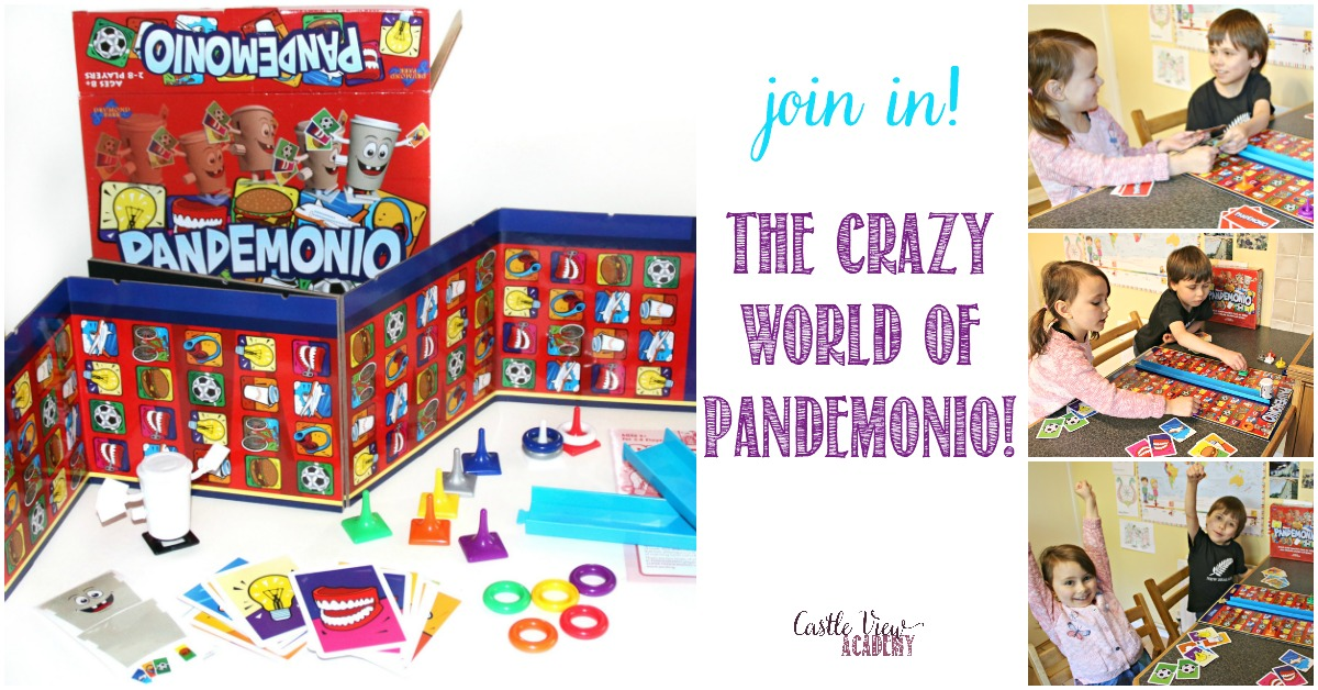 The Crazy World of Pandemonio at Castle View Academy homeschool