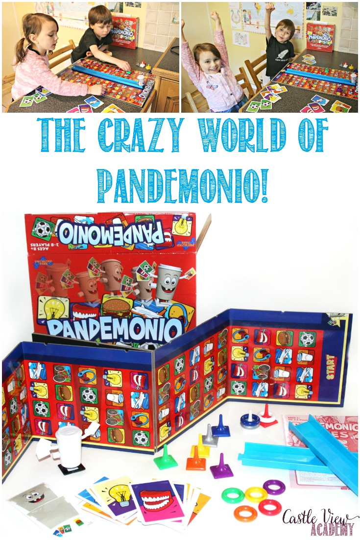 Some days life is just pure chaos and nothing goes according to plan. Sometimes the best option is just to bring out the board games and join in Pandemonio!
