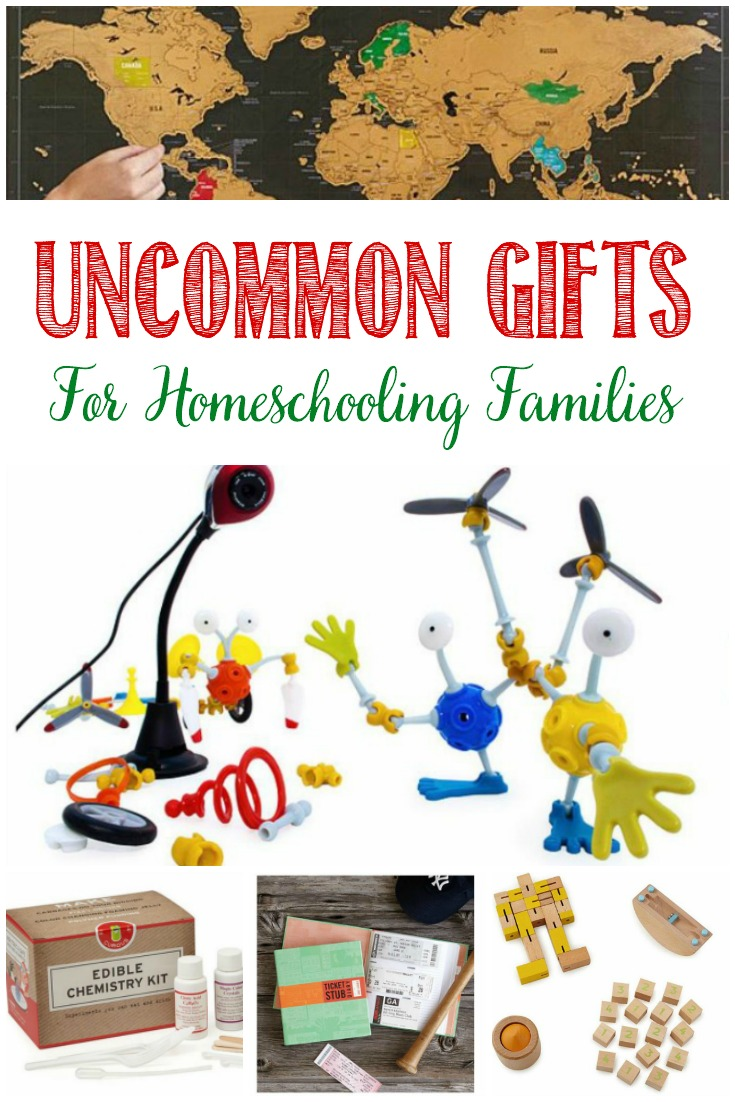 Uncommon Gifts For Homeschooling Families, Castle View Academy homeschool's wish list from Uncommon Goods
