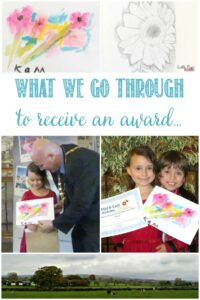 What We Go Through To Receive Up An Award at Castle View Academy homeschool