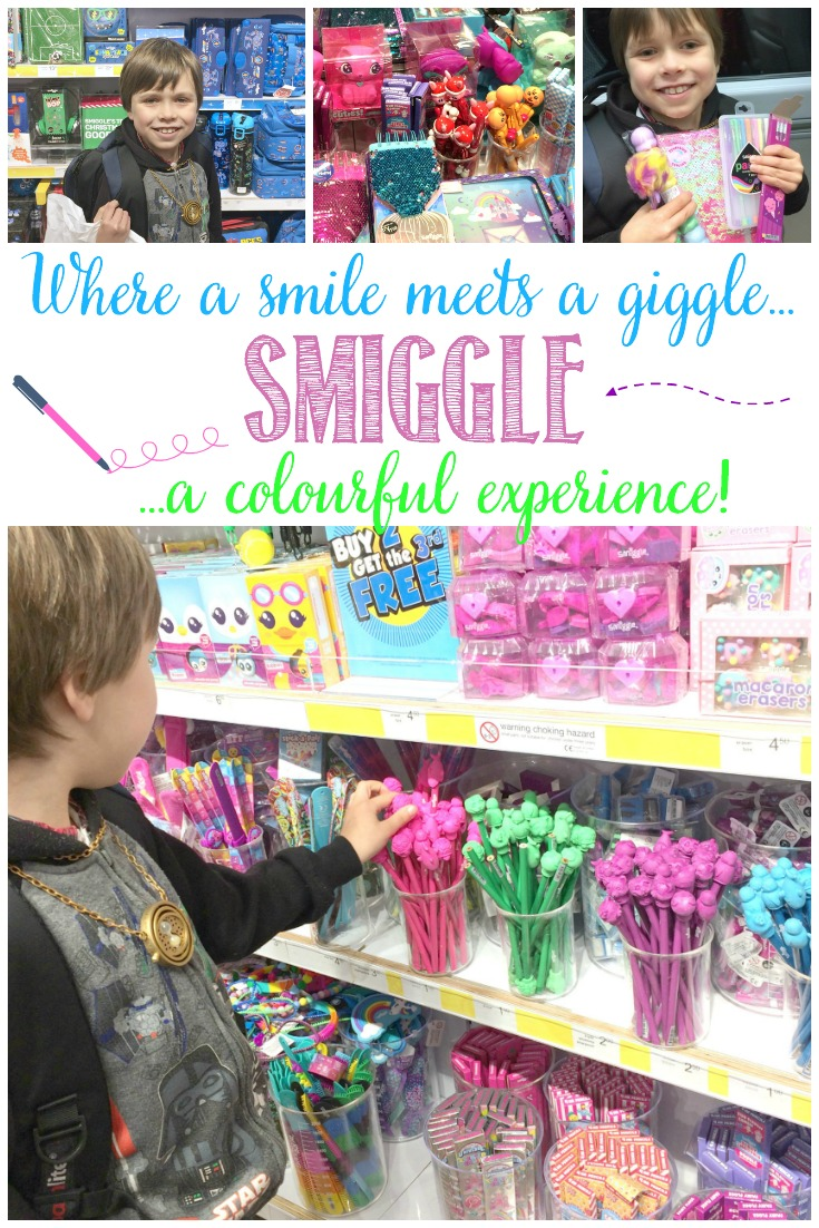 Where A Smile Meets A Giggle; A Fun Day Out At Smiggle with Castle View Academy homeschool.  You'll find all your fun stationary needs (and wants) here!
