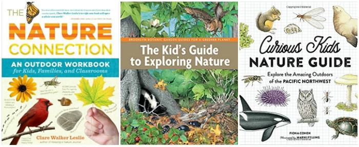 children's nature study books at Castle View Academy homeschool
