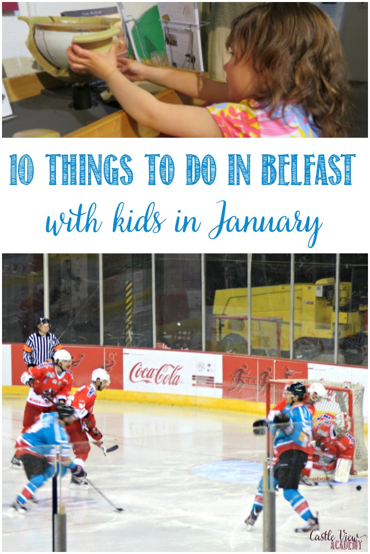 The weather can be a little unpredictable but there's still a lot to do in Belfast in January! Here are 10 things to do with kids. Have fun!