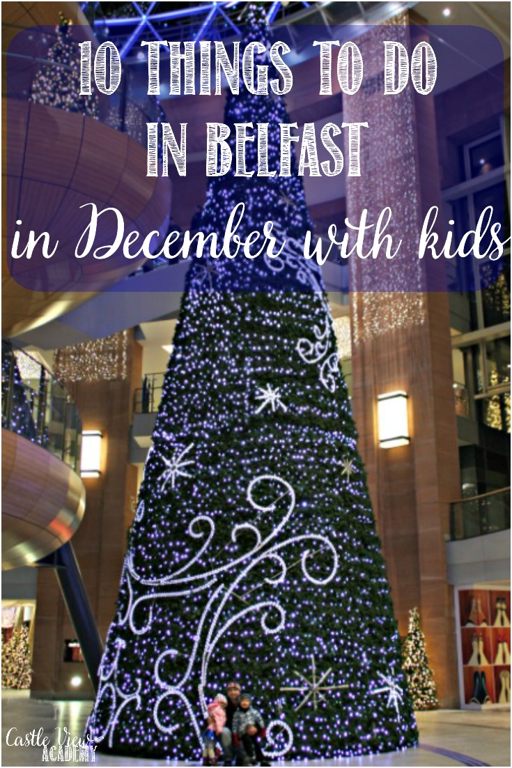 Belfast really comes to life for Christmas and there's lots to see and do in Belfast in December with kids.  Here's my top 10 list this year.