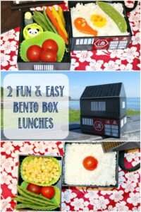 2 fun and easy bento box lunches at Castle View Academy homeschool