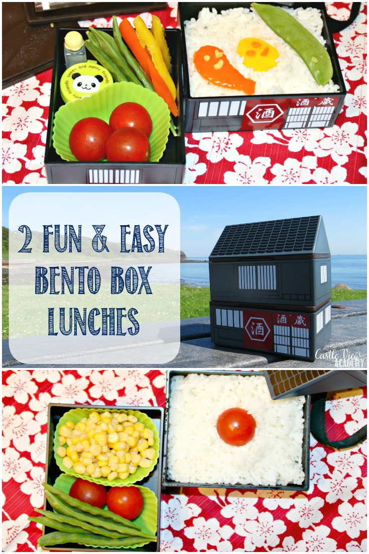 Bento box lunches don't have to be time consuming and difficult: we've put together two fun and easy Sous Chef lunches for you to try.