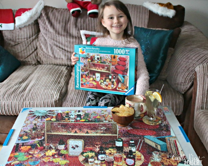 A finished puzzle deserves a toast at Castle View Academy