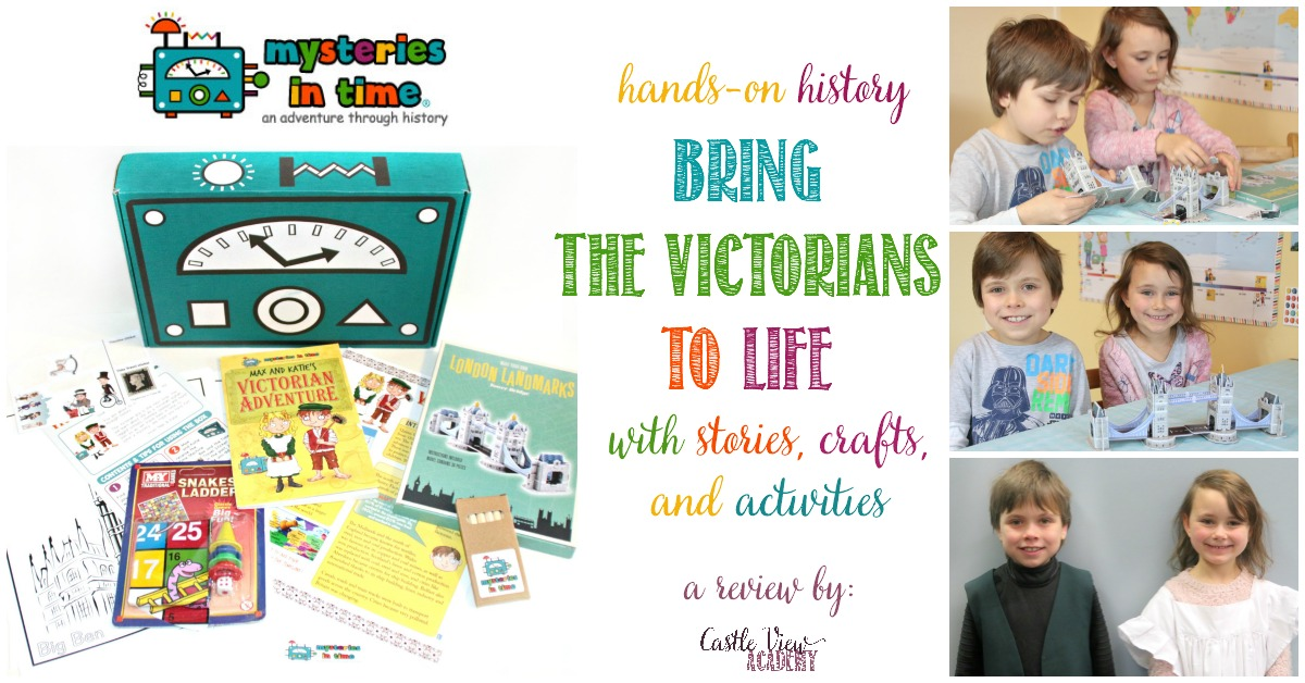 A review of Mysteries In Time, Victorians, by Castle View Academy homeschool