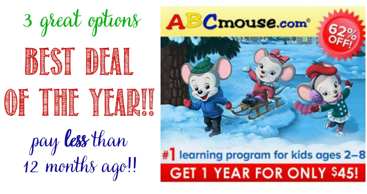 Best deal of the year on ABcmouse at Castle View Academy