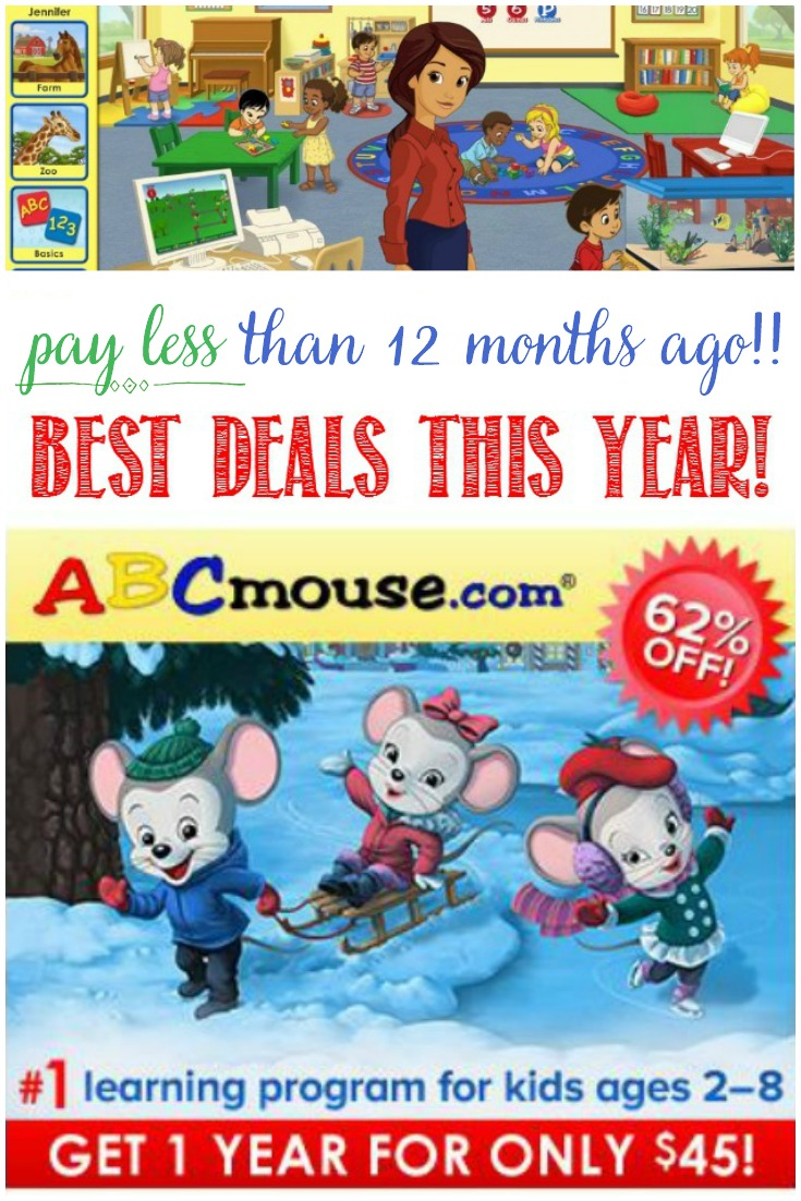 As parents, we all love to see our young children learning, and it's even better to see them enjoying it! ABCmouse.com makes everyone happy! Get the best deal of the year here!