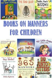 Books On Manners For Kids at Castle View Academy homeschool