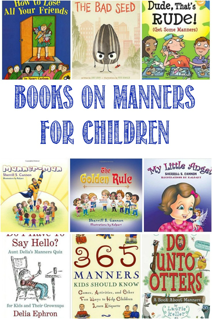 I'm sharing a collection of books about both good and bad manners, all done in a light-hearted fashion so we can move towards a more harmonious society. Castle View Academy homeschool